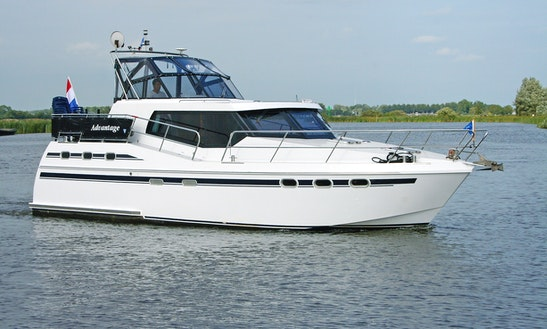 38' Tyvano 1150 Motor Yacht Charter In Ijlst, Netherlands