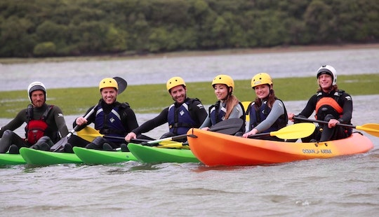 Single Kayak Lesson & Hire In Bournemouth