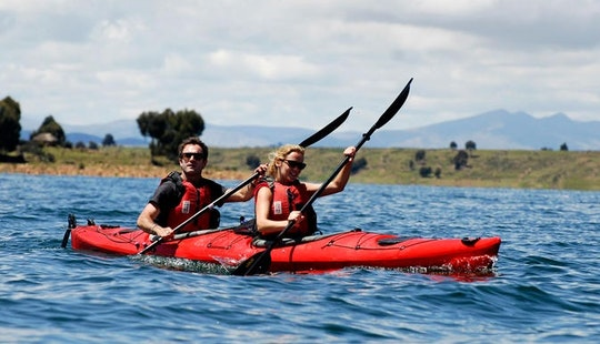 Double Kayak Hire In England