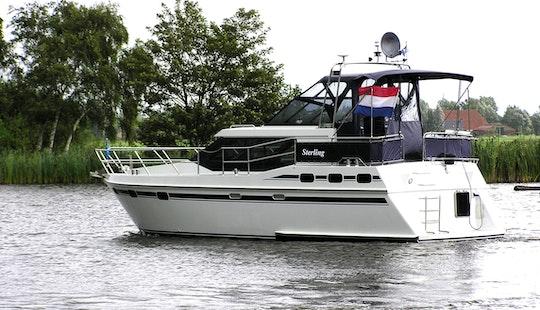 34' Vri-jon Contessa 1040 Motor Yacht Charter In Ijlst, Netherlands
