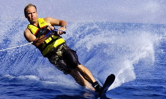 Enjoy 15 Minutes Of Water Skiing In South Sinai Governorate, Egypt