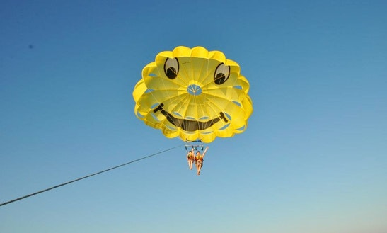 Experience Adventure Parasailing Ride With Us In South Sinai Governorate, Egypt
