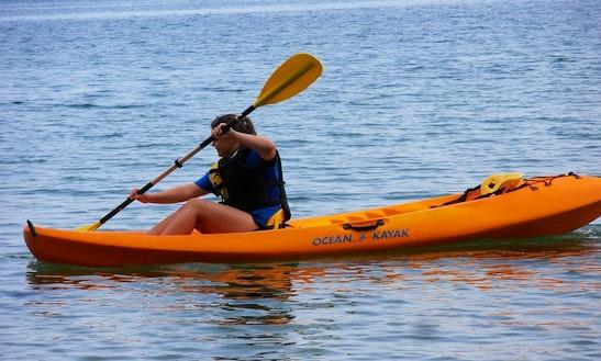 Hire Single Kayaks In Tenby, Wales
