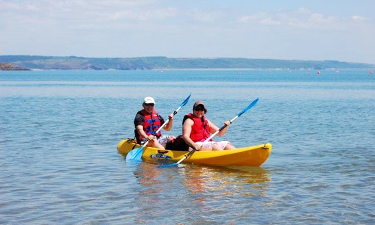 Double Kayak Hire In Tenby