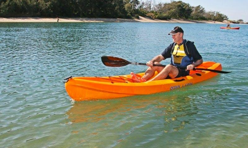 Single Kayak Hire in Torquay