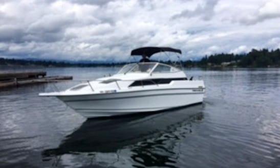 24ft Cuddy Cabin Boat Rental In Bellevue