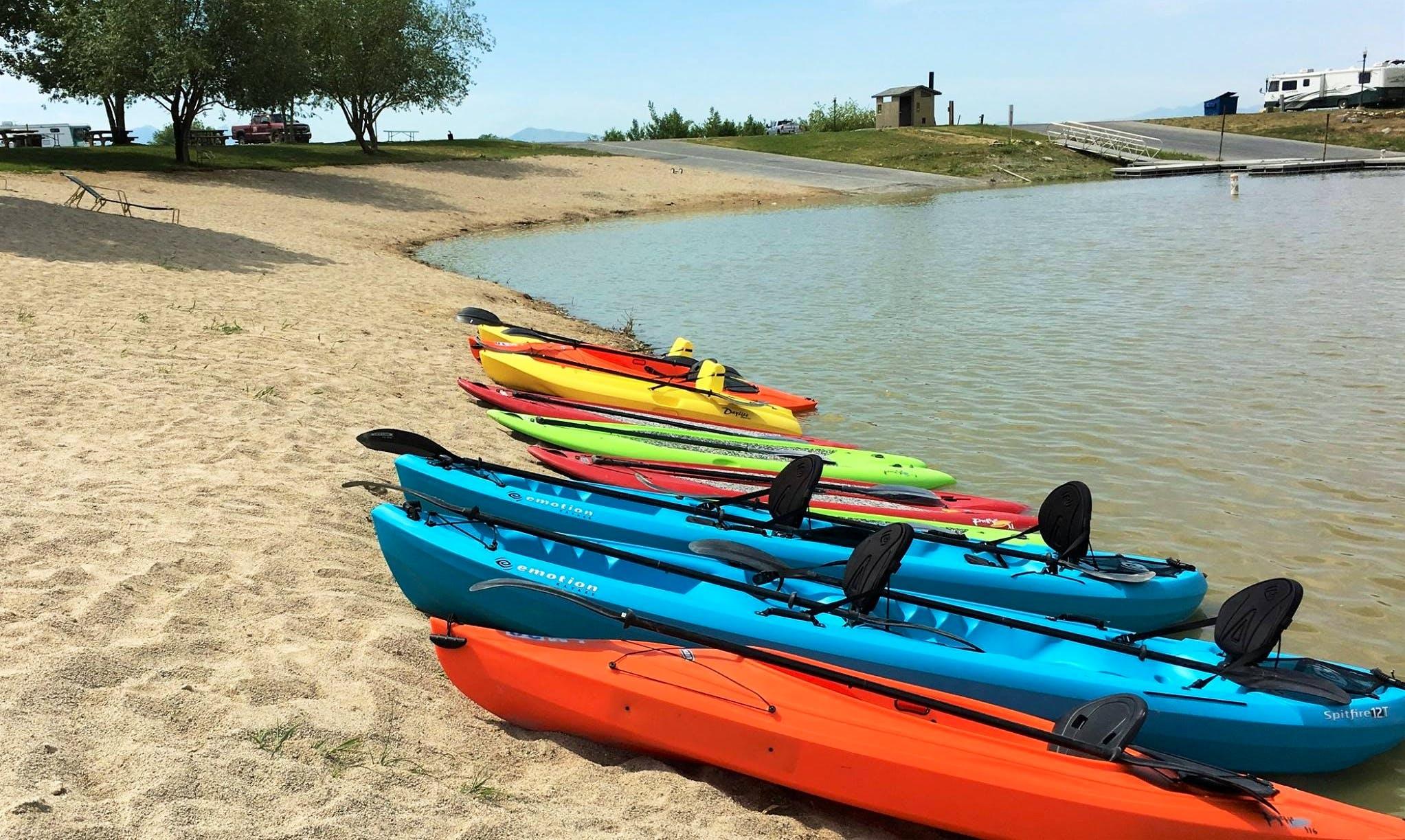 Kayak Rental in Vineyard, Utah