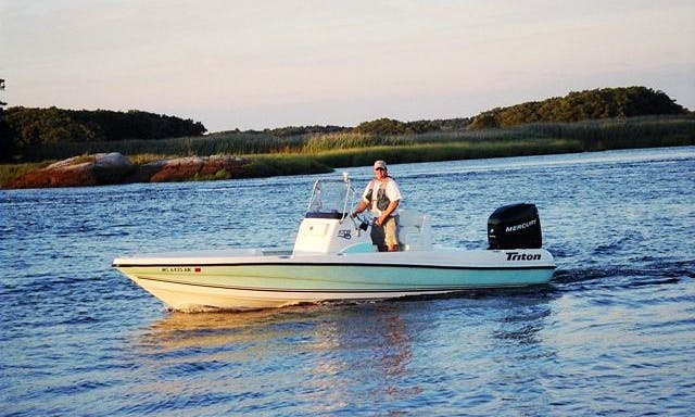 Enjoy Fishing On 22' Center Console In Newburyport, Massachusetts