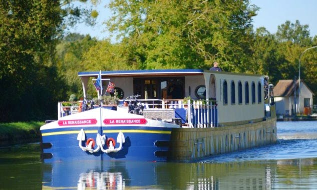 Explore Chatillon-sur-Loire, France on 128' Renaissance Canal Boat