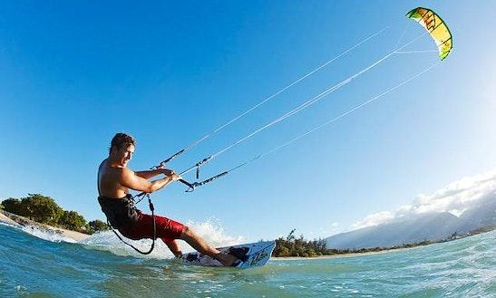 Kiteboarding Lesson In Canton Beach