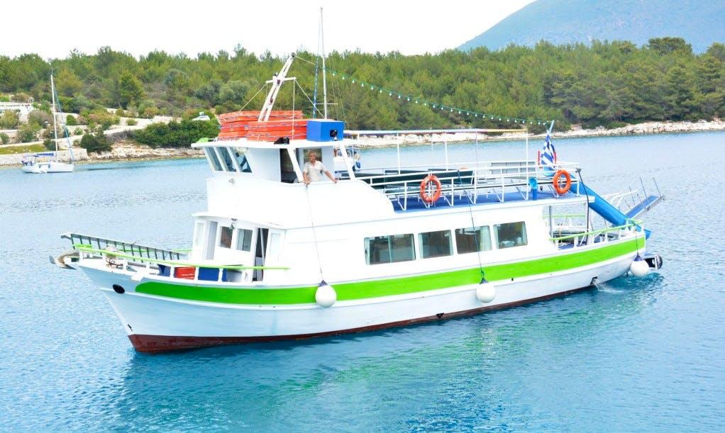 """""""Ionian Princess"""" Cruising in Nidri, Greece"""