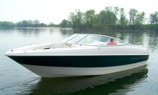 Rent 24' Bayliner 2350 Capri Bowrider In Bad Endorf, Germany