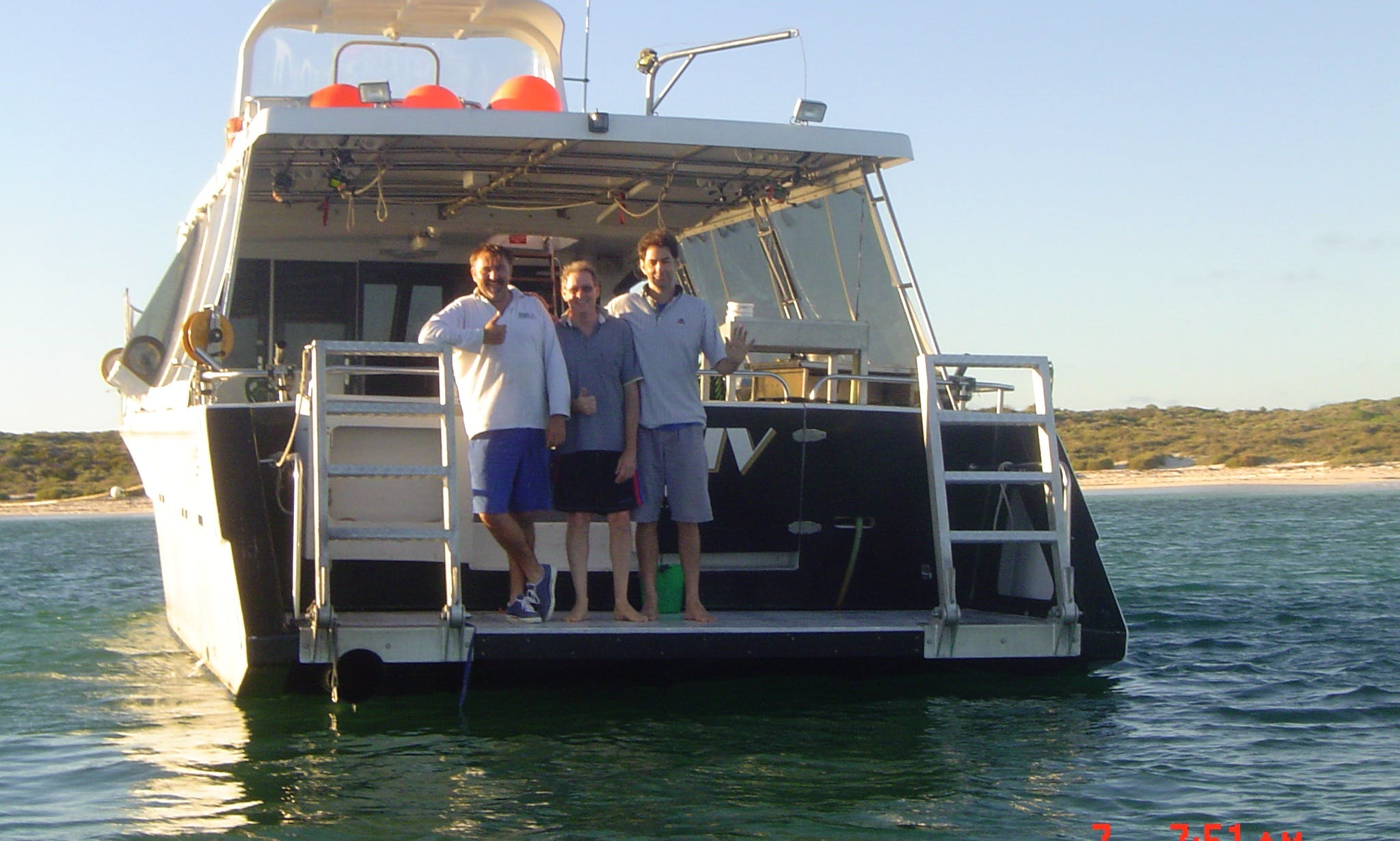 "53 ft ""Jazz IV"" Fishing Charter in Padbury, Western Australia"