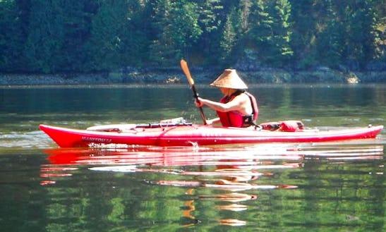 Kayak Trips  In Comox-strathcona J