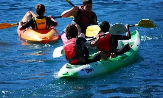 Double Kayak Rental In Malcesine