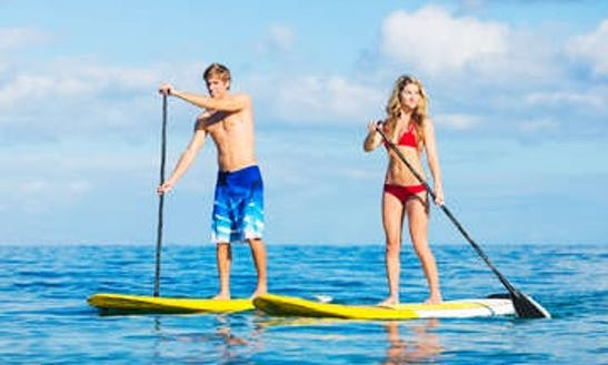 Paddleboard Rental In Fernandina Beach