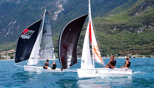 Topaz Vibe X Dinghy Rental And Courses In Malcesine