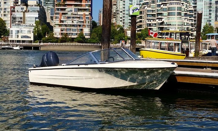 Rent 16' Hourston Glasscraft Speed Boat In Downtown Vancouver, Canada