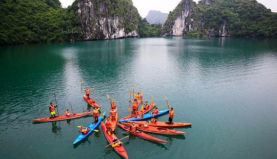 Kayak In Ha Long Bay