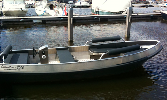 See Groningen, Netherlands By Self-hire Electric Boat