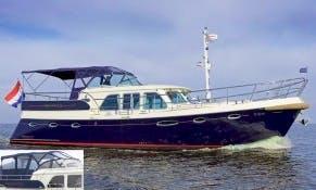 "Hire 45' Motor Yacht ""Triton"" from Sneek, Netherlands"