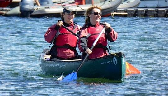 Enjoy Canoe Courses In Great Cumbrea, Scotland