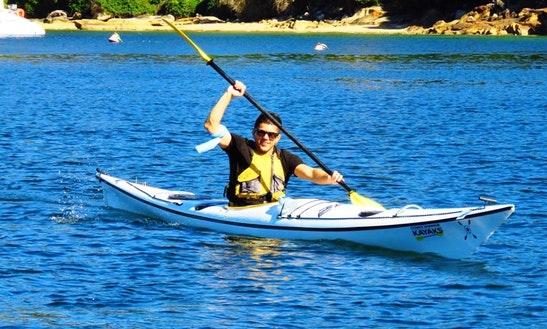Enjoy Single Kayak Hire And Tours In Mosman, New South Wales