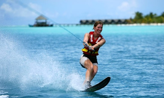 Enjoy Water Skiing In Noumea, New Caledonia