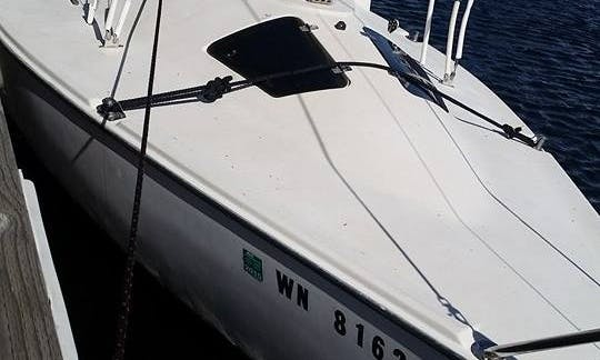 "Rent 20ft ""Cici"" Santana Sloop and Sail in Seattle, Washington"