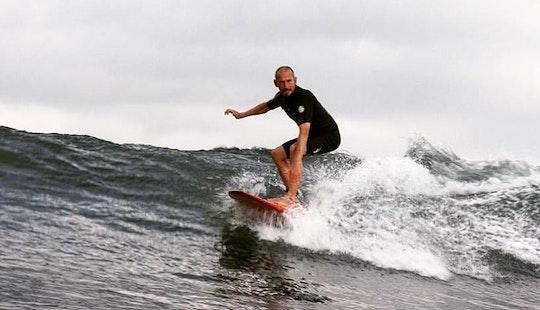 Enjoy Surf Rental And Lessons In Kuta Utara, Bali
