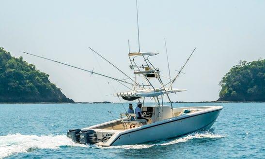 34ft Venture Cc Fishing Charter In Jaco And Playa Herradura