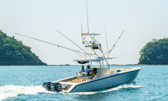 34ft Venture Cc Fishing Charter In Jaco & Playa Herradura