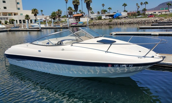 Bayliner 212 Cuddy Cabin Cruiser Rental In San Diego