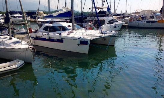 Cruising Catamaran Rental In Paraty, Rio De Janeiro