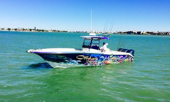 Deep Sea Fishing  In Saint Pete Beach, Clearwater,saint Petersburg,tampa Florida