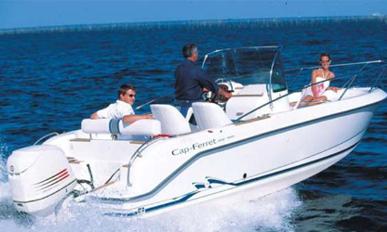 Rent A 21' Center Console In Illes Balears, Spain
