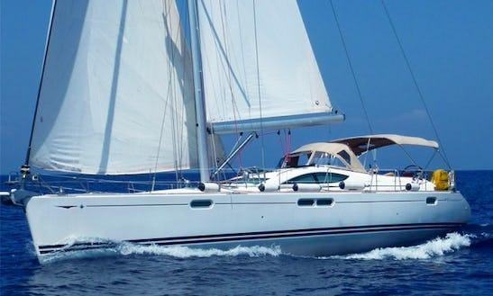 54ft Jeanneau Cruising Monohull Sailing Boat Charter In Cartagena, Bolivar