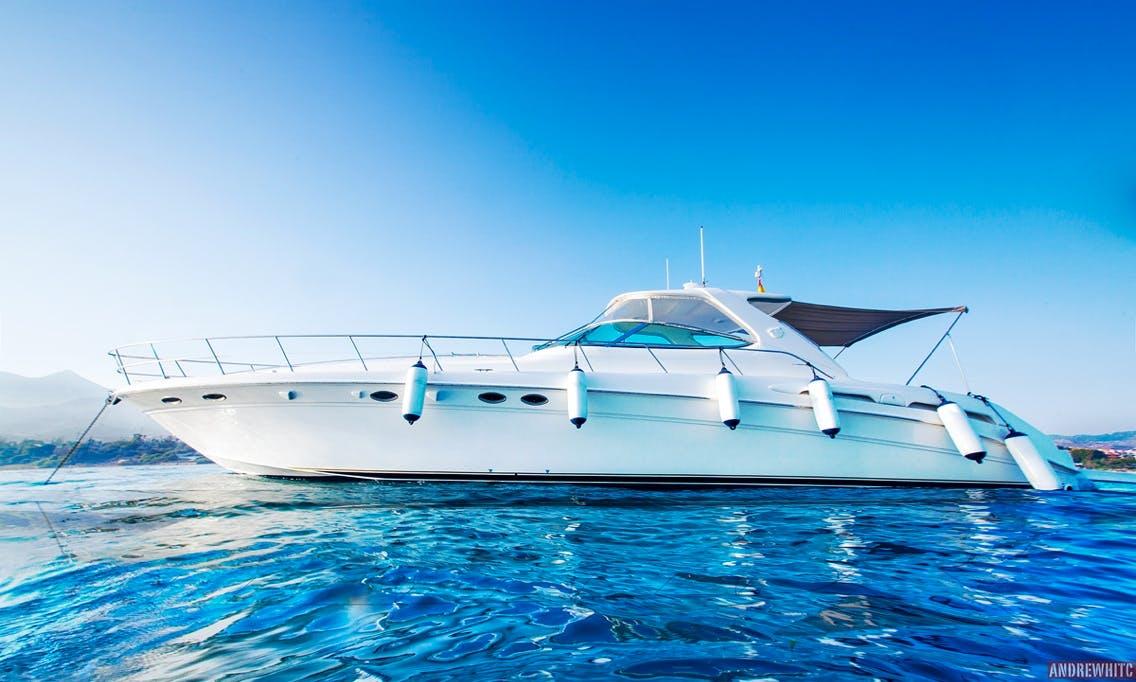 Luxury 18m SeaRay at Puerto Banus