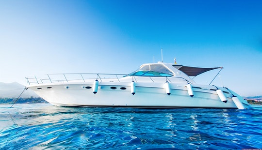 Luxe Yacht Searay 540 For Charter And Rent In Marbella, Puerto Banus, Spain