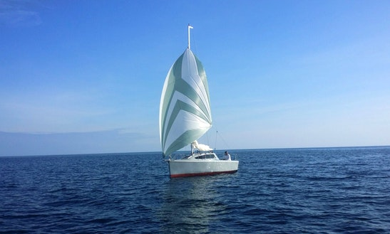 23' Nexo Third Sailboat Rental In Costa Dels Pins
