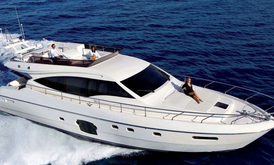 60ft Ferreti Power Mega Yacht Charter In Cartagena, Bolivar