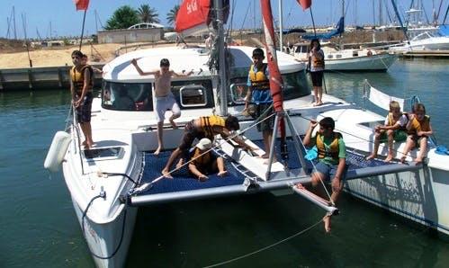 Aventura 36 Catamaran Charter in Herzliya Marina, Israel
