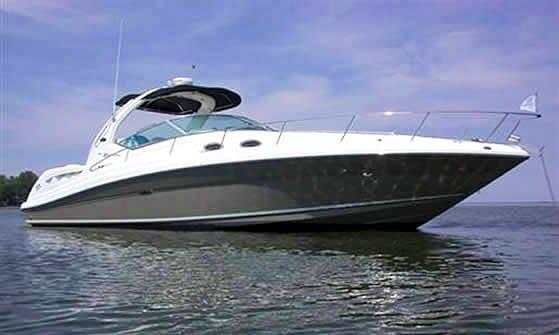 Sea Ray 340 Yacht Charter in Herzliyya Marina, Israel