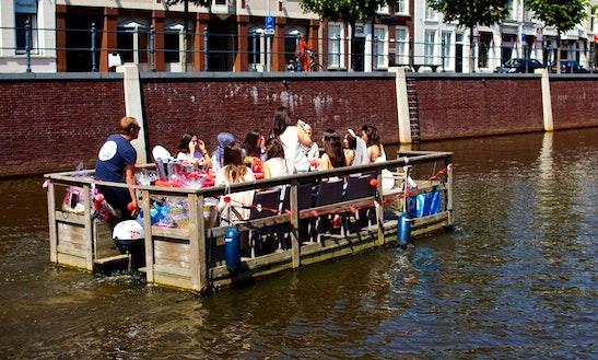 Enjoy Breda, Netherlands On Terrace Passenger Boat