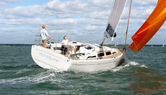 Sailing Charter On 2013 Hanse 345 Yacht In Cogolin
