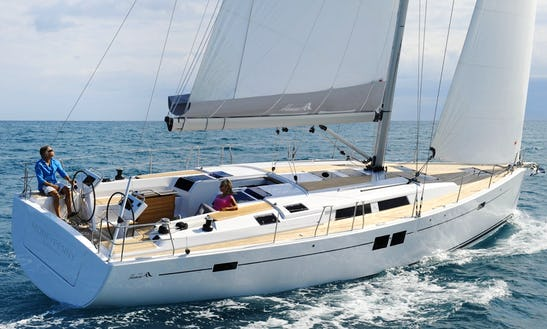 Sailing Charter On Hanse 505 Yacht In Cogolin