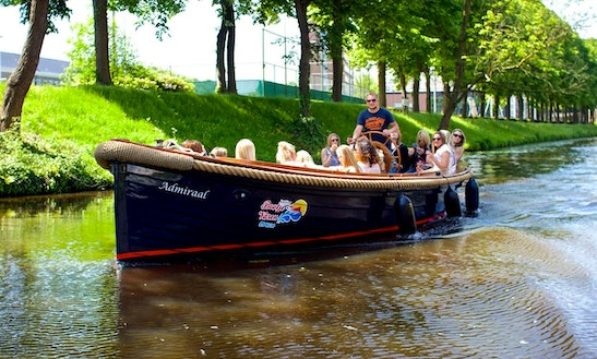 Fun On The Canal In Breda, Netherlands