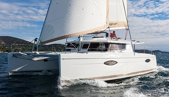 Cruising Charter On Helia 44 Catamaran In Cogolin