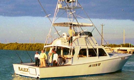 Enjoy Fishing In Islamorada, Florida On 48ft