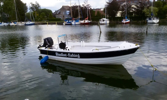 24ft Hannelore 15 Ps Center Console Boat Rental In Berlin, Germany
